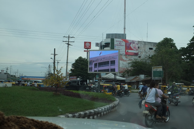 Huge LED screen installed at Koronadal City Roundball