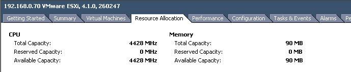 Failed to power on VM
