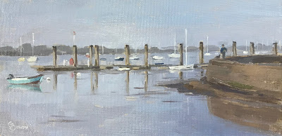 #178 'Emsworth Habour Jetty' 5×10″