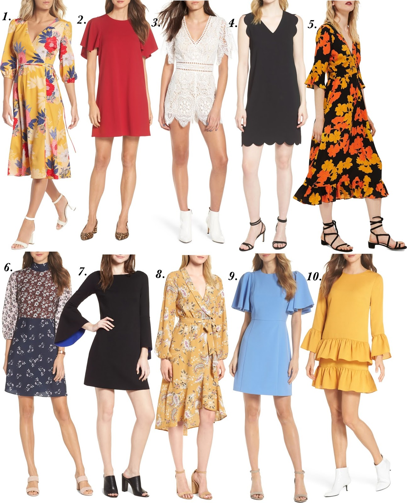 2018 Nordstrom Anniversary Sale: Dresses - Something Delightful Blog