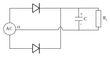 filter capacitor to output DC