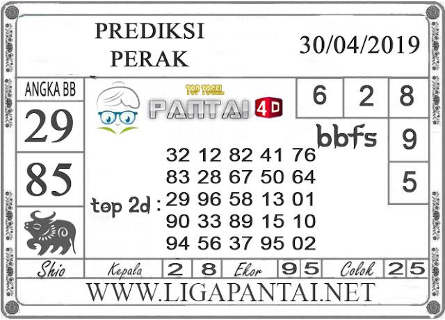 """Prediksi Togel """"PERAK"""" PANTAI4D 30 APRIL 2019"""