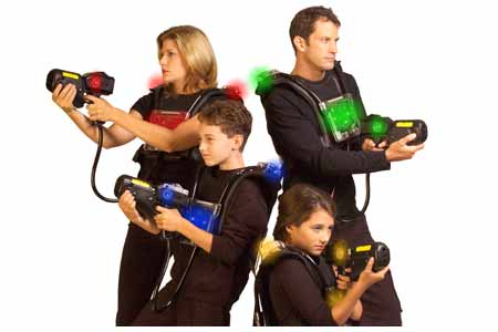 How Laser tag game work