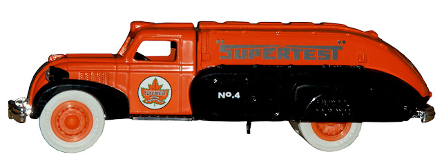 Another collectible tanker branded for Supertest, this one No. 4.