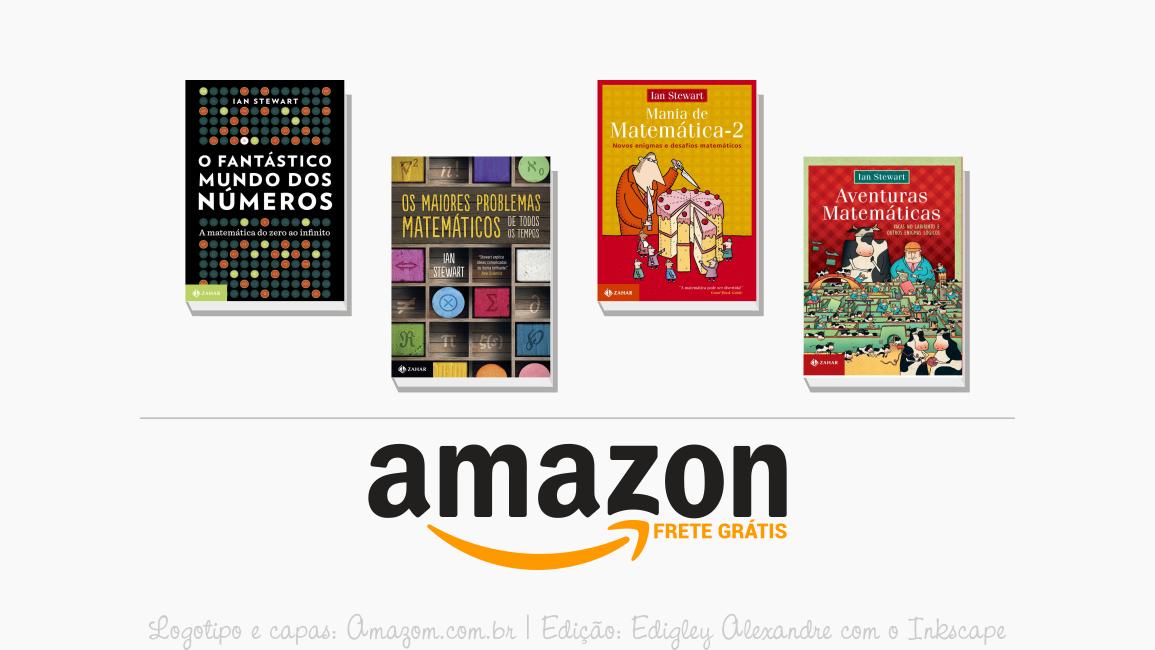 4 livros de Ian Stewart para comprar na Amazon com FRETE GRÁTIS