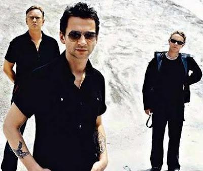 Foto de Depeche Mode al aire libre