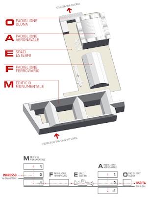 Mappa Museo Nazionale della Scienza