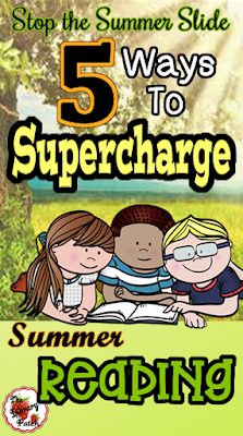 Reading is the key to stopping the summer slide!! Is your summer reading program up for the task?