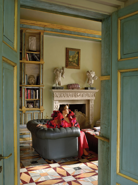 The New York Times: Paola Santarelli's home in Rome