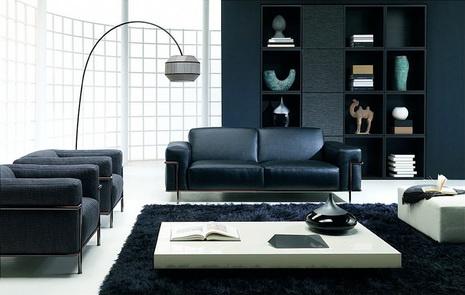 Cmo Decorar el Living Room en Blanco y Negro  Cmo