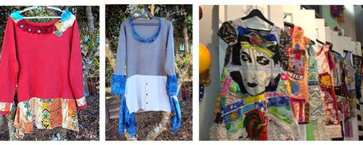 Altered Collage Dresses...