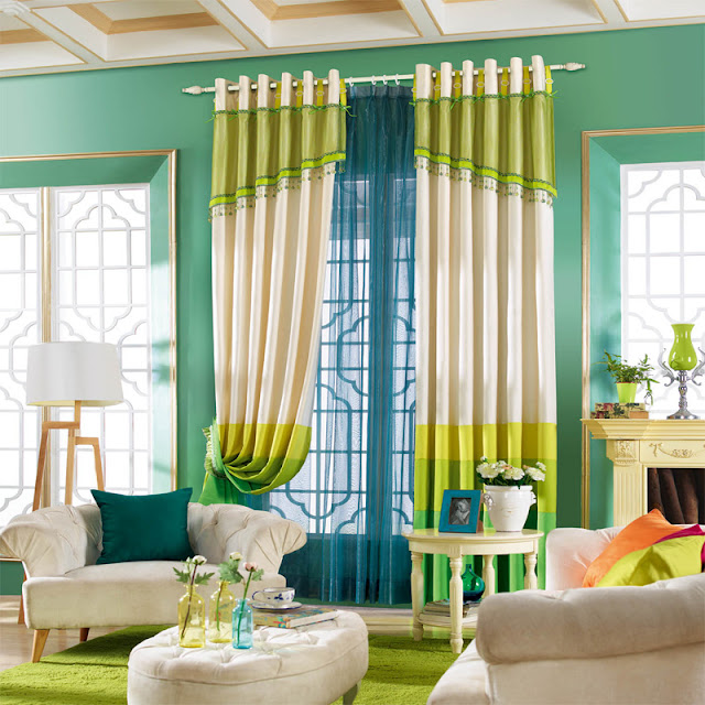 40 curtain ideas for living room and bedroom bahay ofw for M s living room curtains