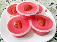 Resep Pudding Strawberry Enak Yang Menambah Selera Ngemil