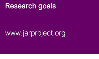 The research goals for Juvenile Arthritis Research - to find a cure for JIA