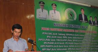 Pimpin FPMPA, Sudirman Ingin Paguyuban Mahasiswa Aceh Tetap Solid