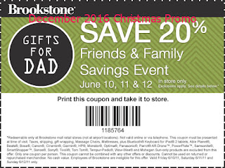 Brookstone coupons december