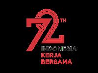 HUT RI ke-72 Logo