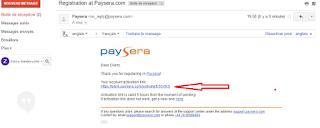 طريقة التسجيل للاستفادة من حساب باسيرة و بطاقة بايسيرا PAYSERA