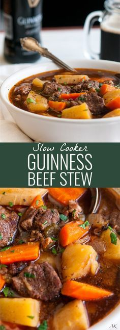 NEW SLOW COOKER GUINNESS BEEF STEW