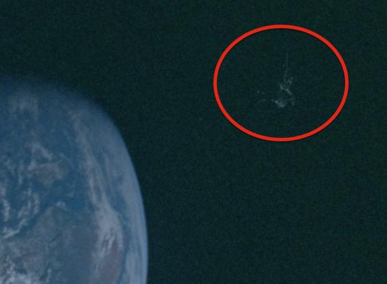 UFO SIGHTINGS DAILY Black Knight Satellite Found In NASA