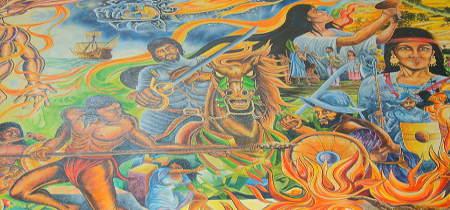mural batalla de centla