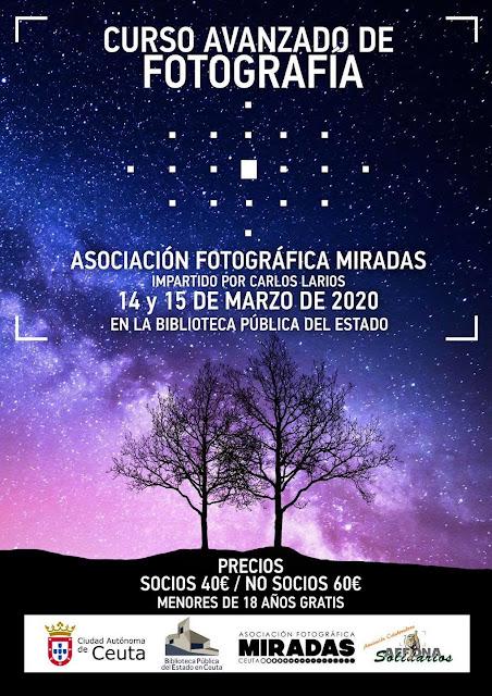 Curso Avanzado de Fotografía para la Asociación Fotográfica Miradas