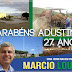 Parabéns Adustina: Uma homenagem do amigo Marcio Loula