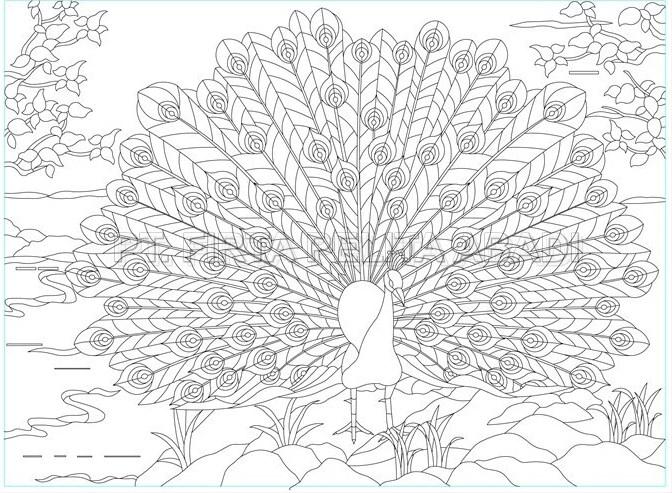 desain kaca inlay