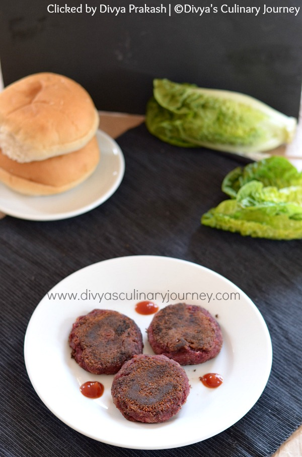 beetroot cutlet, beetroot tikki, patties
