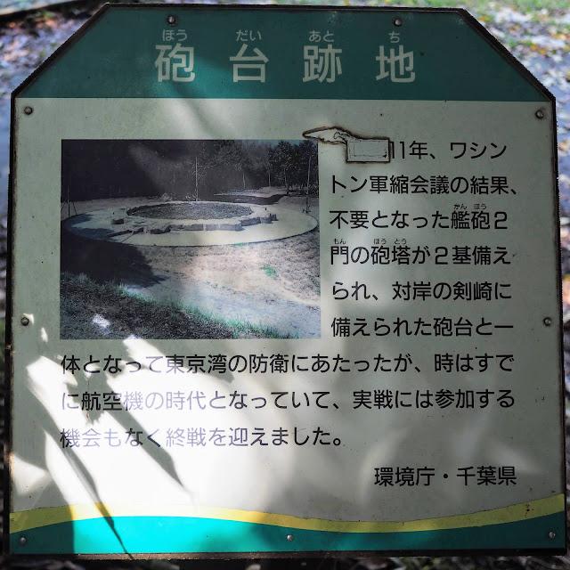 大房岬 東京湾要塞 砲台跡地