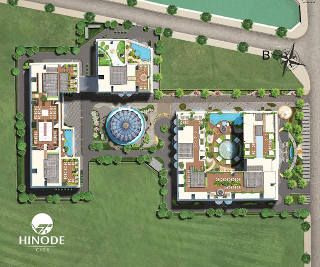 Phối cảnh tổng thể dự án Hinode City
