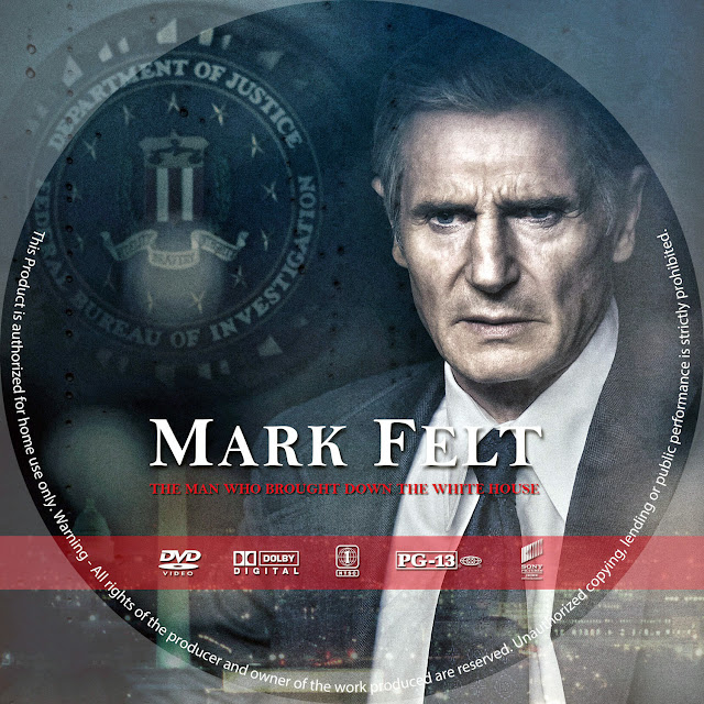 Mark Felt DVD Label