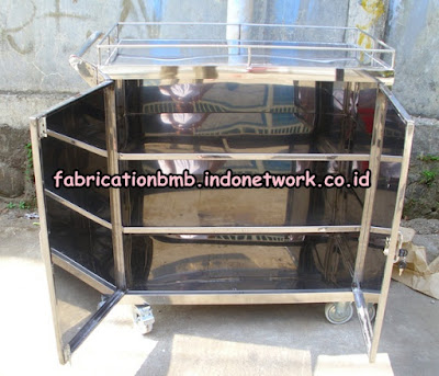 food trolley cabinet