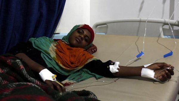 OMS registra 500.000 casos de cólera en Yemen