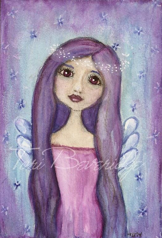 Brown Eyed Angel by Tori Beveridge