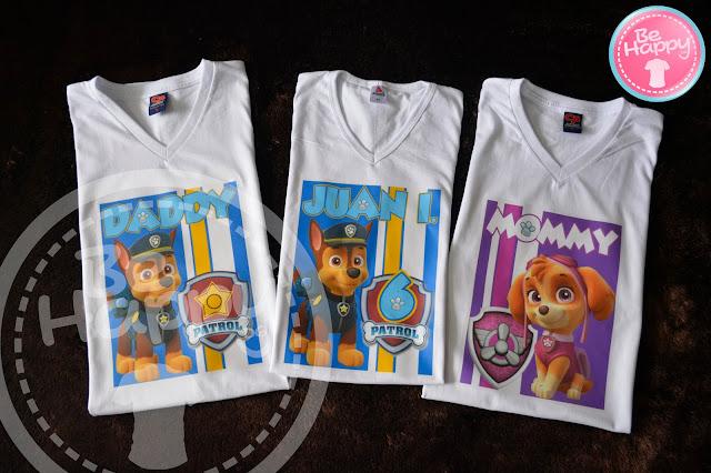 60ca7e4ba Camisetas Personalizadas Paw Patrol - Bucaramanga Santander