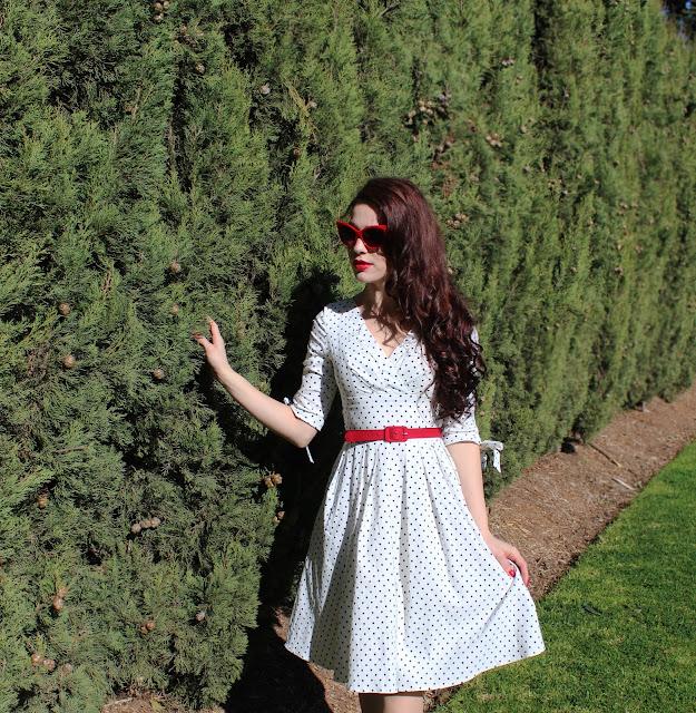 Unique Vintage Diana Swing Dress Review