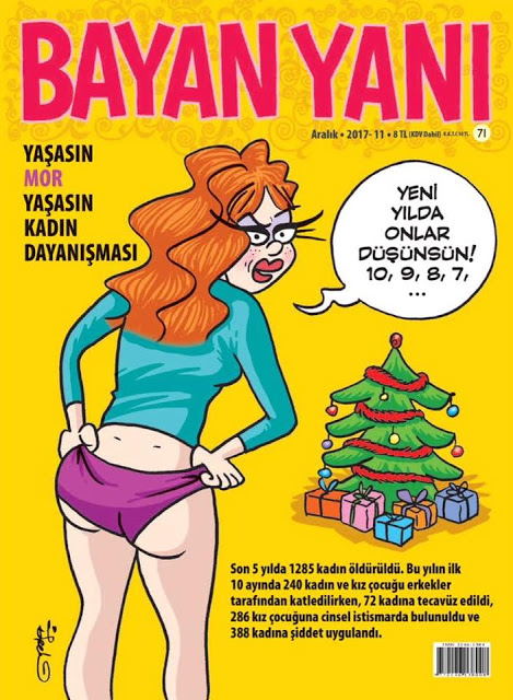 bayan yanı december 2017 cover