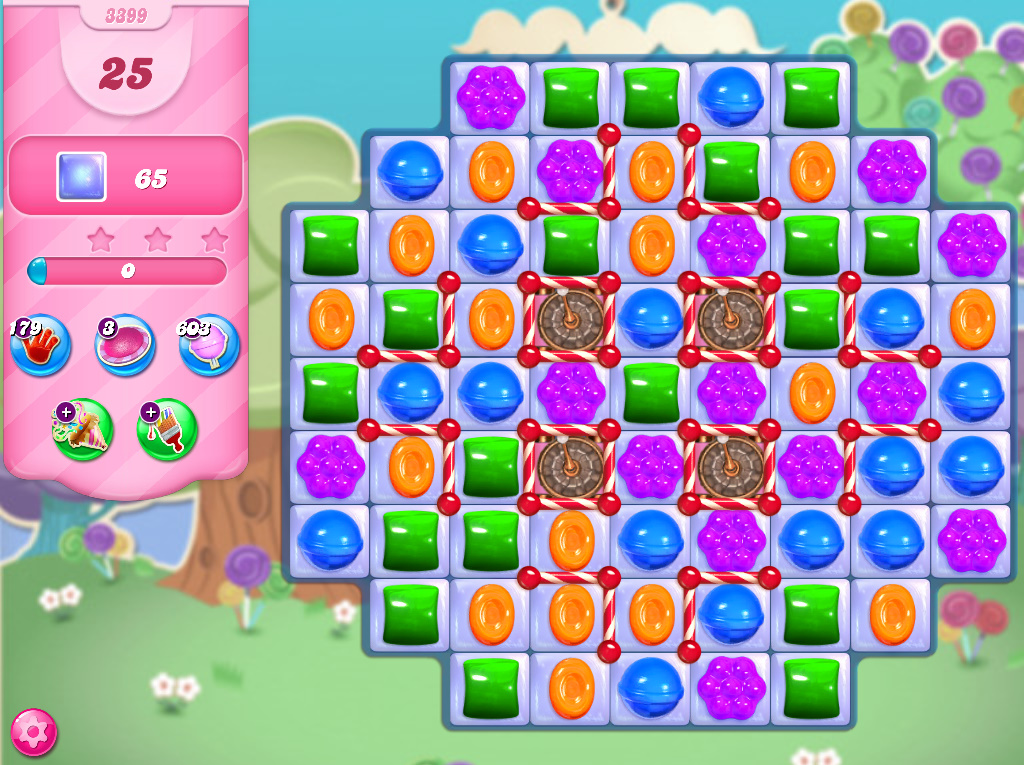 Candy Crush Saga level 3399