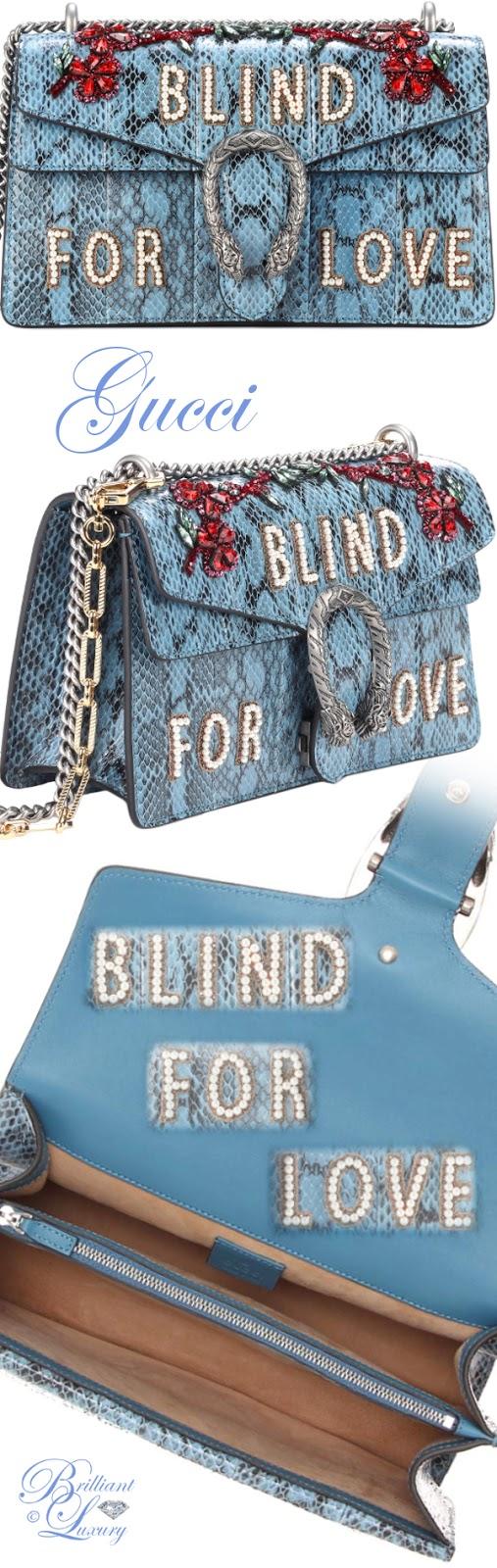 Brilliant Luxury ♦ Gucci Dionysus medium snakeskin shoulder bag