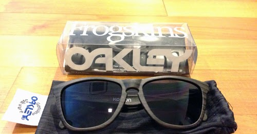 0d93dfbeb3 SHOPIXIE  SOLD - Used - Limited Edition Oakley x Eric Koston Signature  Series Frogskins®