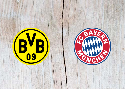 Borussia Dortmund vs Bayern Munich Full Match & Highlights 10 November 2018