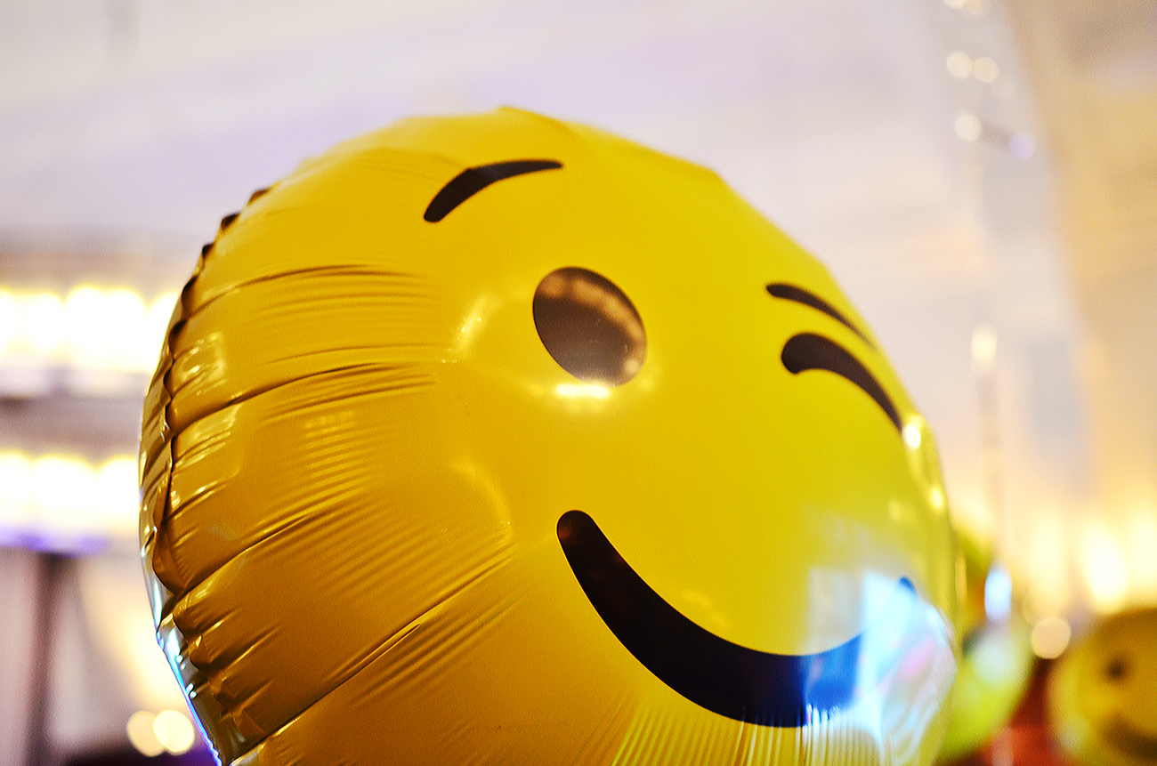 emoji balloons