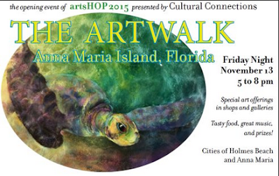Pineapplefish: artsHOP 2015 Event Coming to Anna Maria Island on November 13,14 & 15