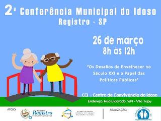 Conselho Municipal realiza pré-conferência dos Direitos da Pessoa Idosa e anuncia data da 2ª Conferência do Idoso de Registro-SP