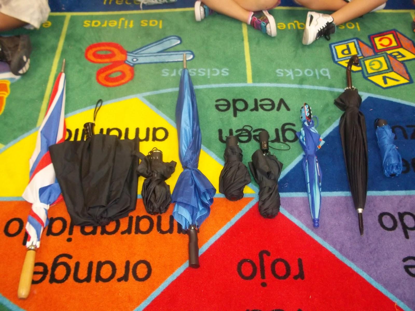 Kinder Garden: Mrs. Wood's Kindergarten Class: Umbrella Math