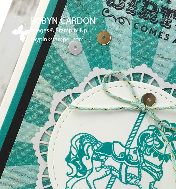 Stampin Up Carousel Birthday Online Class Preorder