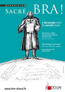 Sacré Bra ! - Exposition à la Bibliothèque Marceline Desbordes-Valmore de Douai.
