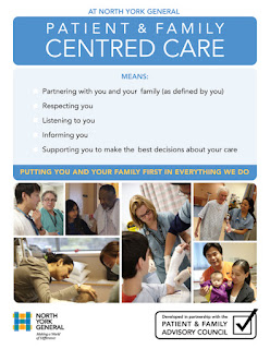 Poster: North York General's Patient- and Family-Centred Care Definition