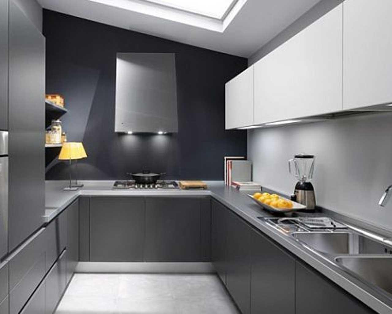 45 Desain Dapur Minimalis Bentuk U